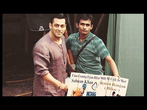 Salman Khan Meets His Die Hard Fan Ratan Ranjan