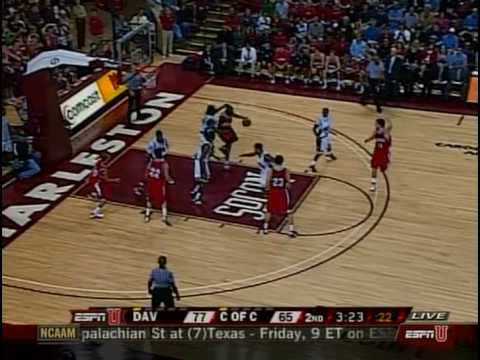 Dec. 29 - Davidson v. College of Charleston - Last 6 Minutes