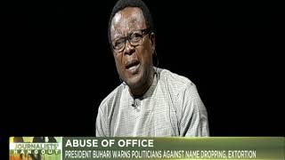 Journalists' Hangout 26th Dec., 2018 | Abuse of Office