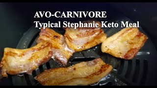 AVO-CARNIVORE:  The new carnivore diet . Typical day of eating w/ Steph