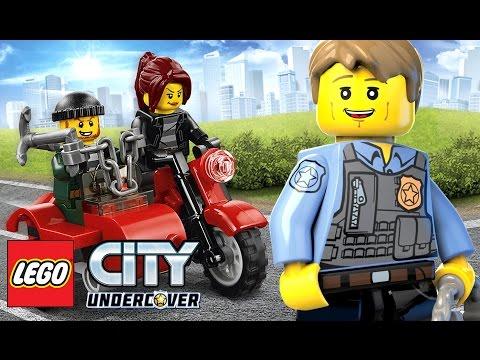 LEGO City Undercover 2017 Прохождение - Игра Мультфильм Лего Полиция - Nintendo Switch