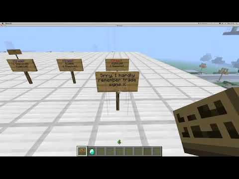 Minecraft - How to use Essentials Signs + Sign Color Codes 1.7.2