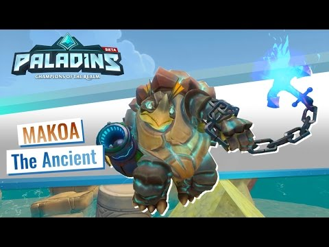Makoa Just Joined The Paladins Champion Roster Pressing X