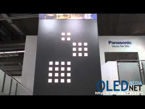Panasonic's OLED lighting