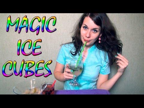 Magic Ice Cubes. Mojito. ASMR Drink. ASMR Facial Massage Ice Cubes.