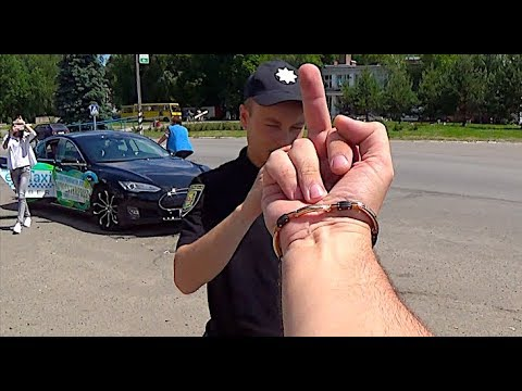 Fuckовый прицел для Полиции / Угон мопеда