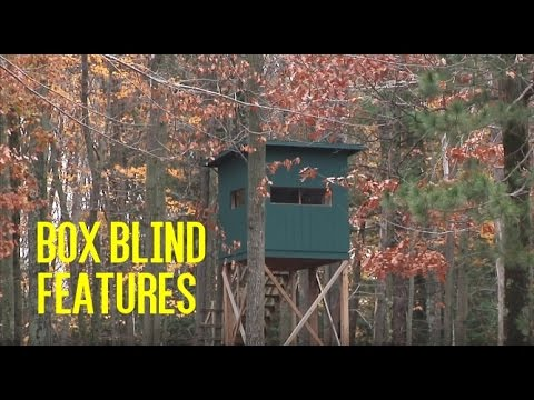 Features to Look for in a Box Blind
