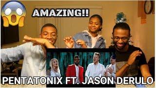 Download Lagu If I Ever Fall in Love - Pentatonix ft Jason Derulo (REACTION) Gratis STAFABAND