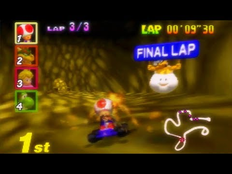 Mario Kart 64 150cc All Cups (Skips) Shortcut Speedrun 25:36 (World Record)