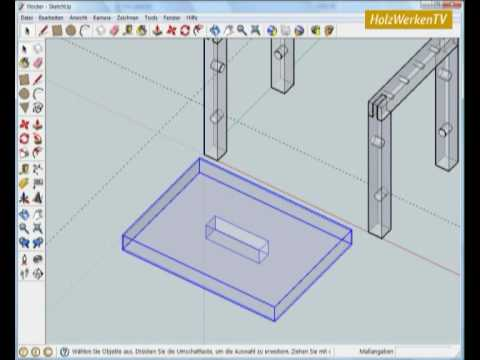 SketchUp - Möbelbau Leicht Gemacht Mit HolzWerken (2/2)