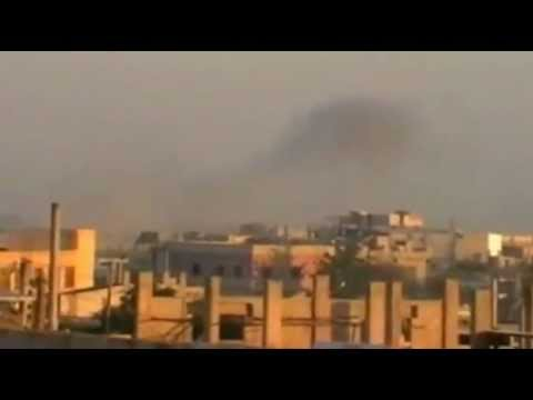 Amateur video purports to show Free Syrian Army rebels taking control of ...