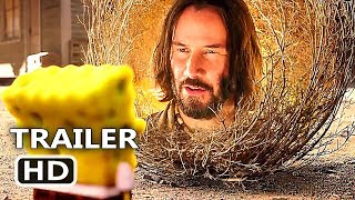 THE SPONGEBOB Movie 3 Trailer (2020) Keanu Reeves, Sponge on the Run