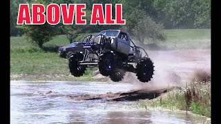 Above All Mega Truck Going Big At Country Boys Mud Bog July 2016