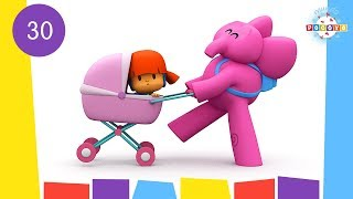POCOYO WORLD: Elly's Doll (EP30) | 30 Minutes with close caption
