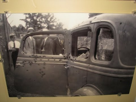 Bonnie & Clyde Death Car - Killed In This Actual Ford In 1934