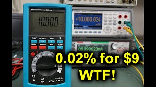 EEVblog #1248 - INSANE! A 0.02% Process Meter for $9? WTF!