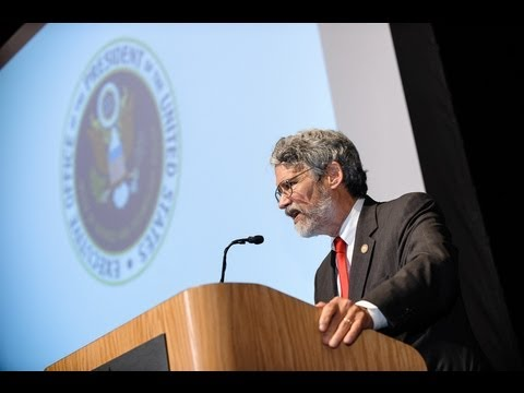Stevens Institute of Technology: Dr. John Holdren at The President's Distinguished Lecture Series
