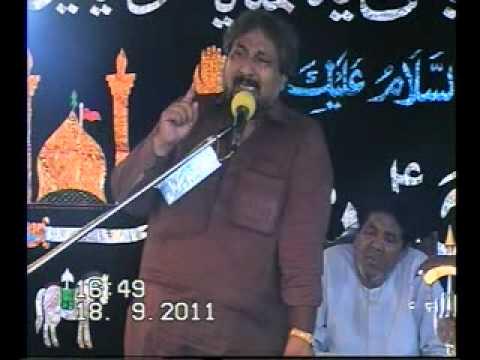 Zakir Jafar Tyar Bhera  (Jalsa Talagang 17 18 Sep 2011)