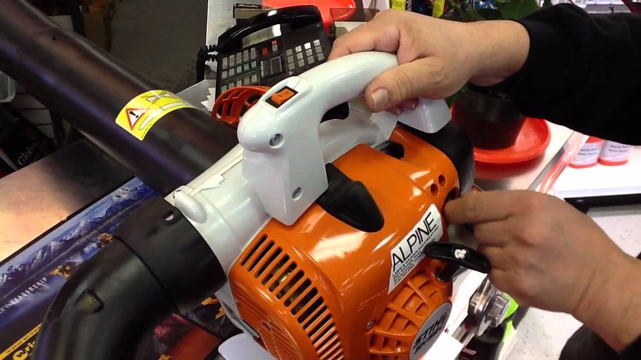 Stihl sh 56 c e shredder vac blower toronto ontario youtube - Stihl sh 56 ...