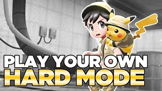 How to Play in HARD MODE in Pokemon Let's Go Pikachu & Eevee