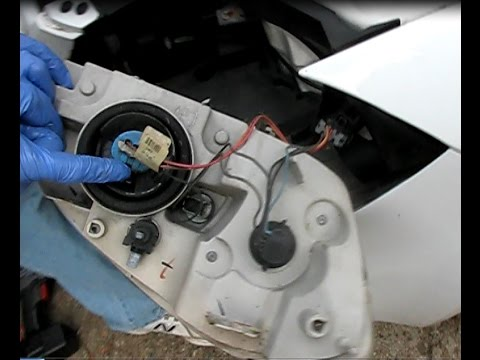 How to replace a headlamp in Chevrolet Cobalt or Pontiac G5. 2005-2010