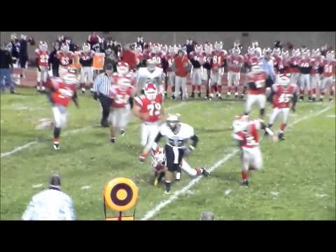 Tyler Morris Fredonia, KS Football Highlights 10-18-2013