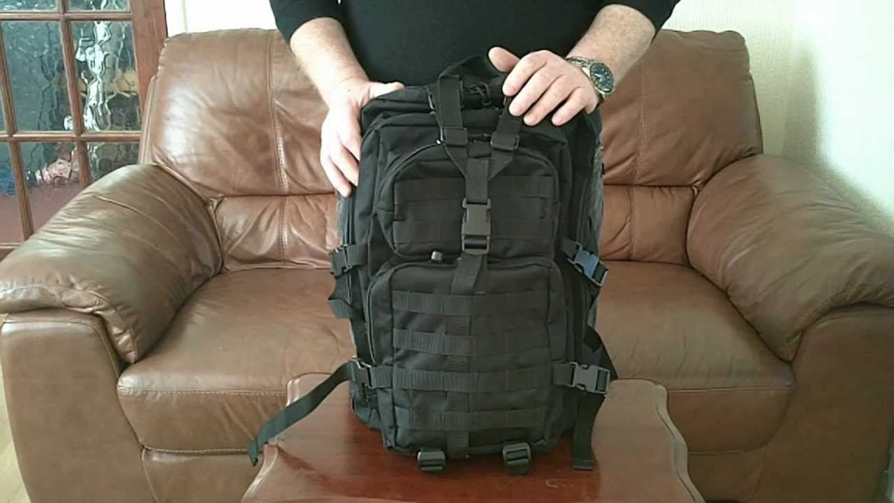 Mil Tec Backpack Review Wmv Youtube