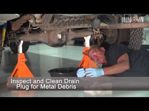 How to Change Differential Fluid - 2005 Toyota Tacoma
