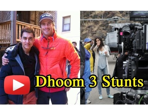 Aamir Khan Katrina Kaif Dhoom 3 Climax Scene Shoot- Photos video