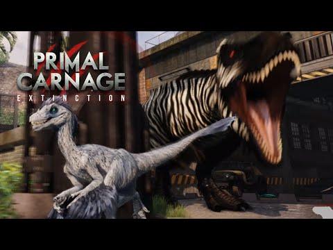 Raptors, T.rexes And Vehicles!?! - Primal Carnage Extinction || Part 20