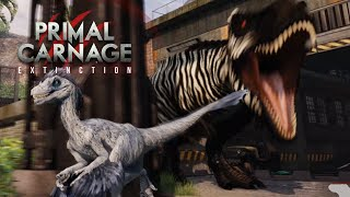 Raptors, T.rexes And Vehicles!?! - Primal Carnage Extinction || Part 20