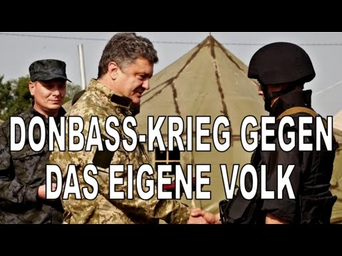 Donbass, Krieg gegen das eigene Volk