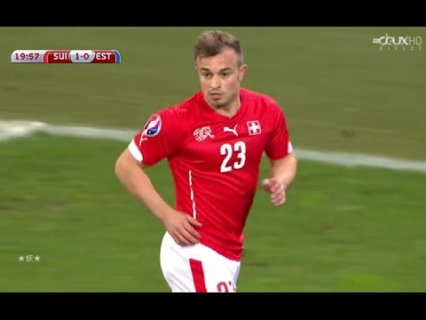 Xherdan Shaqiri vs Estonia(27/03/2015)HD 720P by轩旗