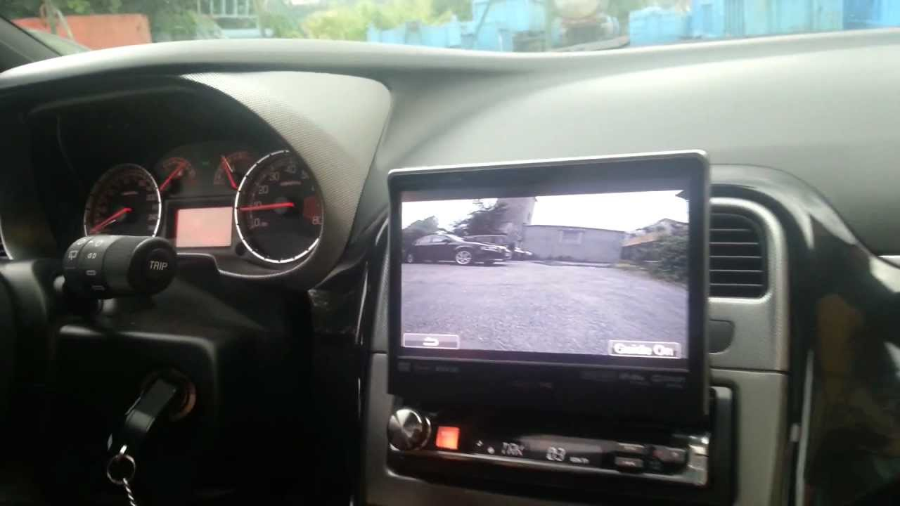 Telecamera Posteriore Su Alpine Iva D511 Youtube