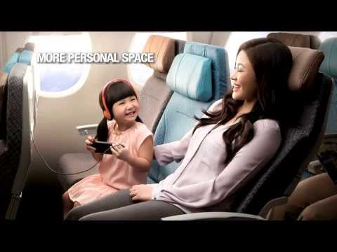 Singapore Airlines: New Economy Class