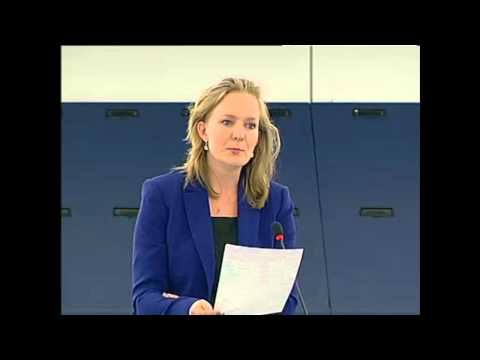 Marietje Schaake on Syria & the humanitarian situation