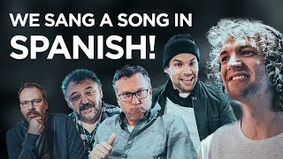 AUSTRALIANS attempt to SING in SPANISH