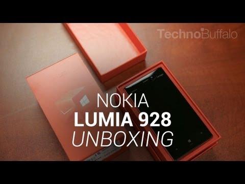 Nokia Lumia 928 Specification Nokia Lumia 928 Unboxing