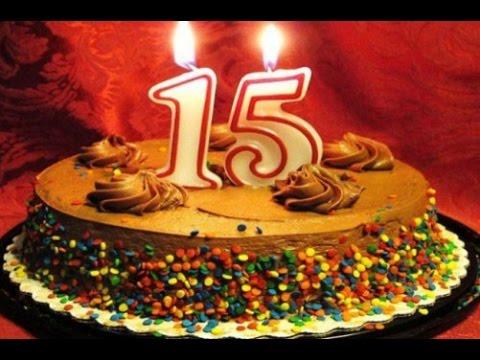 Поздравление для девочки 15 лет с днем рождения