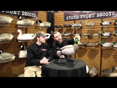 Flambeau Outdoors - Storm Front Full Body Mallard Decoy - SHOT Show 2012