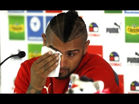 Arturo Vidal Crying: 'Arsenal Is A Step Down For Me!'*