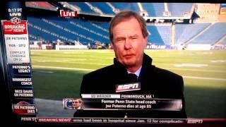 Ed Werder walks away during interview