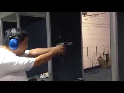 Test fire STI/INFINITY 40 tungsten sleeve