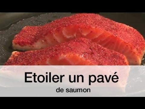 Etoiler un pav de saumon avec eric frechon youtube - Comment cuisiner un pave de saumon ...