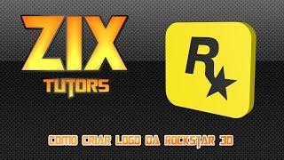 Como criar logo da Rockstar 3D