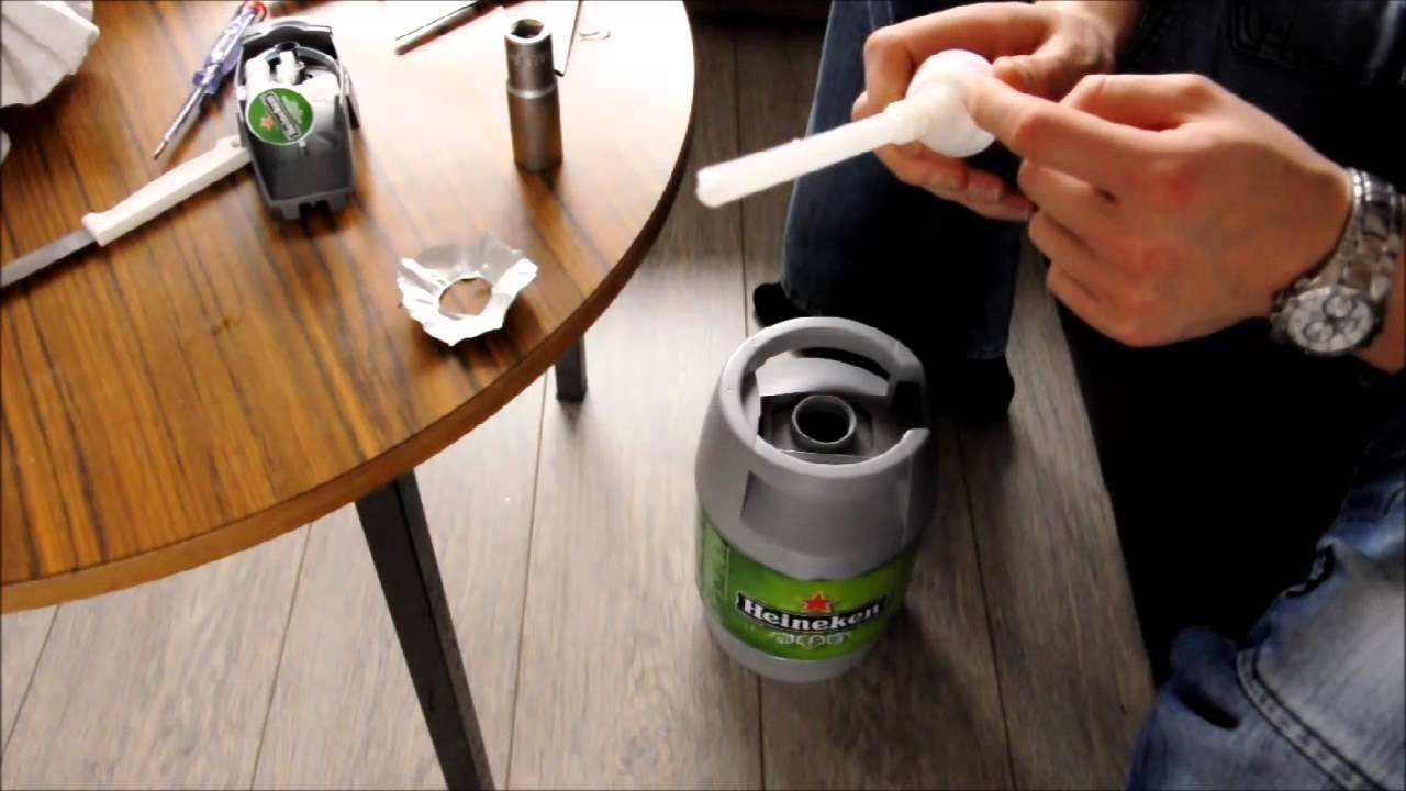 How To Open Heineken Keg Nl En Tutorial Beertender Fust