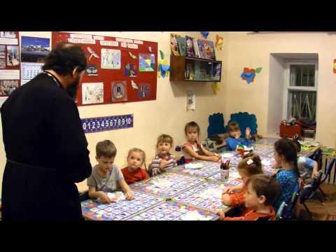 Беседа с детьми о Кресте и молитве