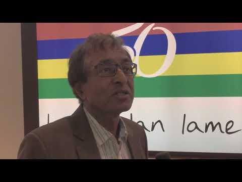 Anil Kumarsingh Gayan, minister of tourism, Mauritius