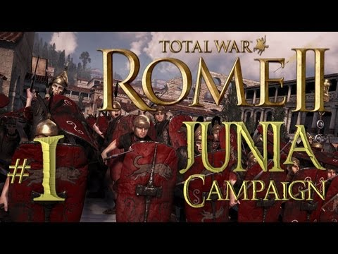 Total War: Rome 2 - Junia Campaign part 1: To Arms Farmers!