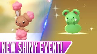 SHINY AZURILL HATCHED! All New *SHINY BUNEARY EVENT* in Pokemon GO! Eggstravaganza 2019